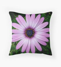 Daisy Macro Throw Pillow