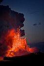 Kilauea Volcano at Kalapana by Alex Preiss