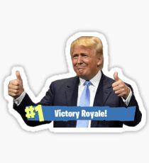 Trump Victory Royale Sticker