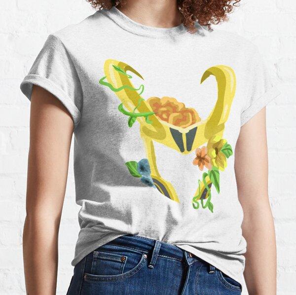 Loki's floral helmet- design Classic T-Shirt