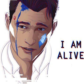 I AM ALIVE - DEVIANT CONNOR by InvisibleRain