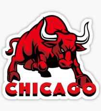 Chicago Bulls Logo Sticker