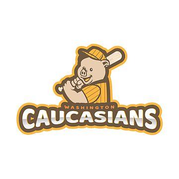 The Washington Caucasians Sports Baseball Team by goodfriendkyle