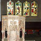 HAWORTH PARISH CHURCH  by Lilian Marshall