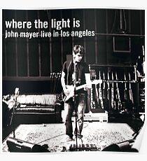 John Mayer Poster