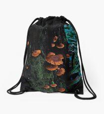 Living on The Edge #1 Drawstring Bag