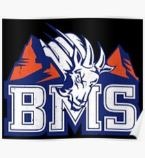 BMS Blue Mountain State Poster
