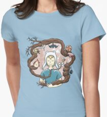 Blooming Women's Fitted T-Shirt