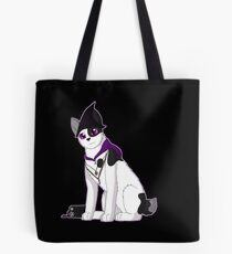 Witch Bobtail Cat Tote Bag
