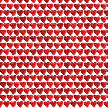 Matrix of hearts by Filifjonka