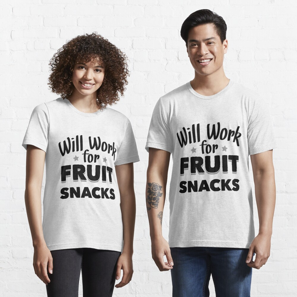 Work For Fruit Snacks Youth Short Sleeve Graphic T-Shirt