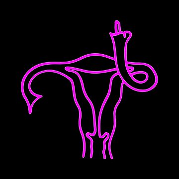Uterus says Fuck You by biggeek
