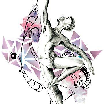 Modern dancer by ArteLauraS