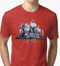 The Game of Kings, Wave Three: The White Queen-Knight's Pawn Tri-blend T-Shirt