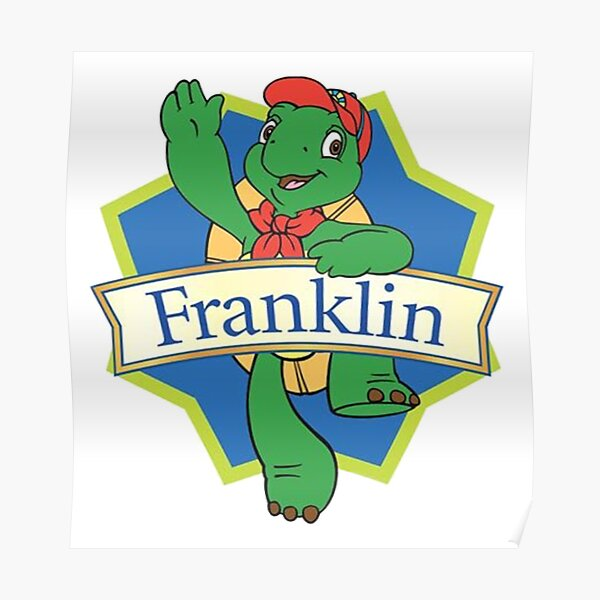 Franklin the turtle Poster