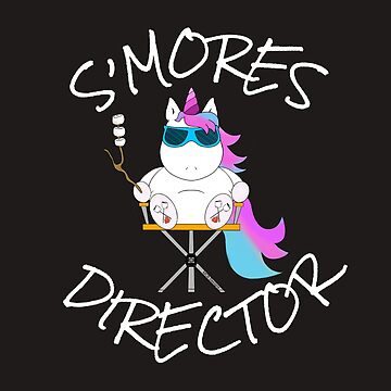 A s'mores lover unicorn for camp directors or anyone into s'mores and unicorns :p by mcb-jp
