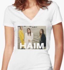 haim Women's Fitted V-Neck T-Shirt