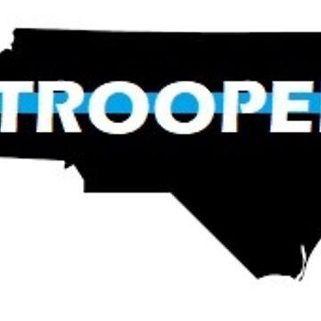NC Trooper Decal by Workingdogs