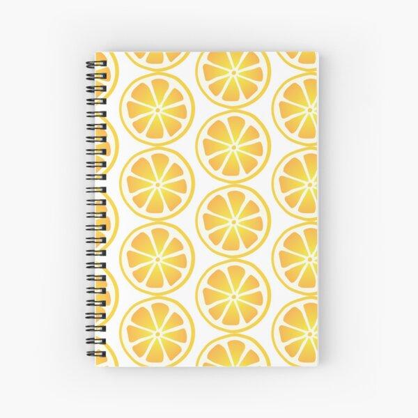 A little wedge of Lemon Spiral Notebook