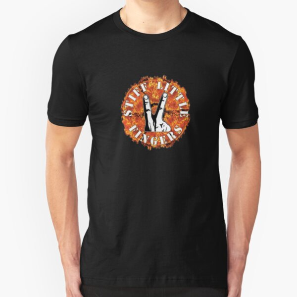 Stiff Little Fingers Slim Fit T-Shirt