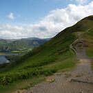 View up Towards Catbells Peak by Duncan Payne
