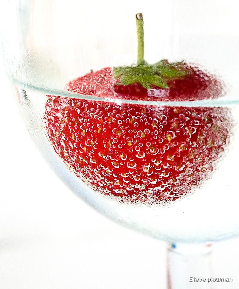 Strawberry fizz by Steve plowman
