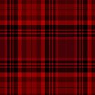 red and black plaid pattern by FernandoDuarte
