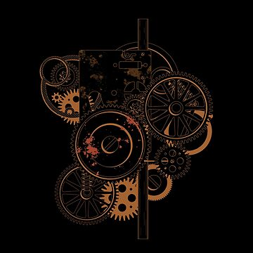 Cog Wheels Steampunk by stuch75