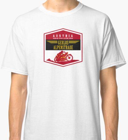 Austria - Gerlos Alpine Road Vintage Motorcycle Design Classic T-Shirt
