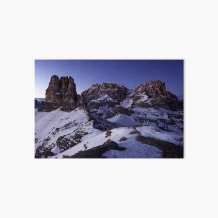 Blaue Stunde in den Dolomiten Galeriedruck