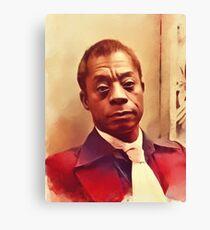 James Baldwin, Literary Legend Canvas Print