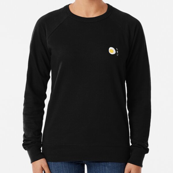 Boiled Egg Lightweight Sweatshirt