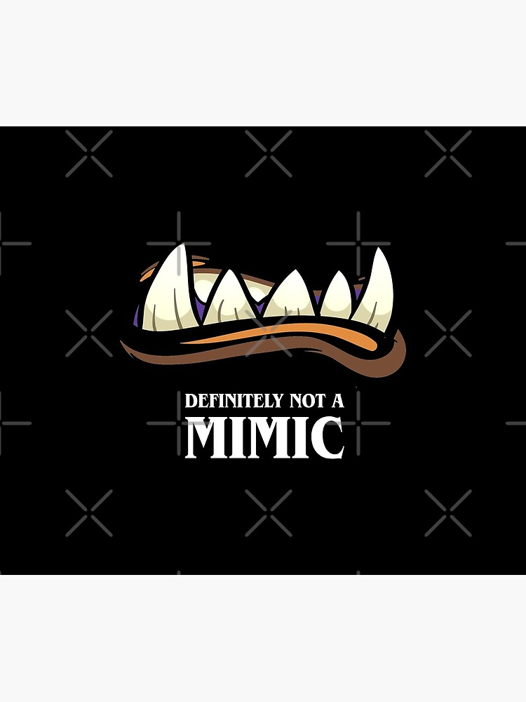 Definitely Not A Mimic Tabletop RPG Gaming by pixeptional