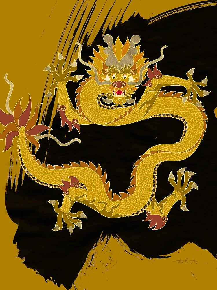 Yellow Dragon of the Center by Thoth-Adan