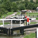 Foxton Locks by John Dalkin