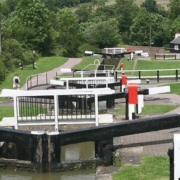 Foxton Locks by JohnDalkin