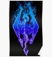 Skyrim Dragon Poster