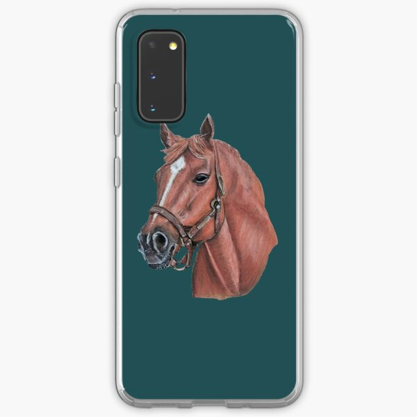 """Big Red"" Secretariat, Race Horse Samsung Galaxy Soft Case"