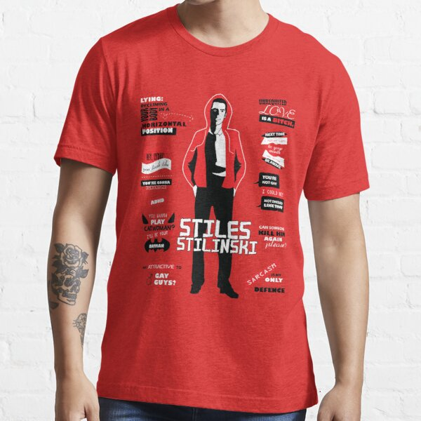 Stiles Stilinski cite Teen Wolf T-shirt essentiel