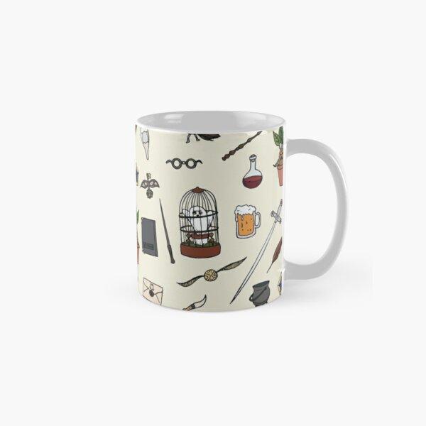 Chouette et baguette Mug classique
