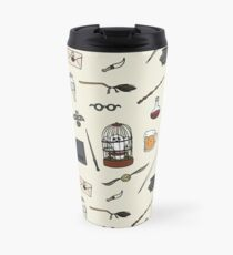 Owl and wand Travel Mug