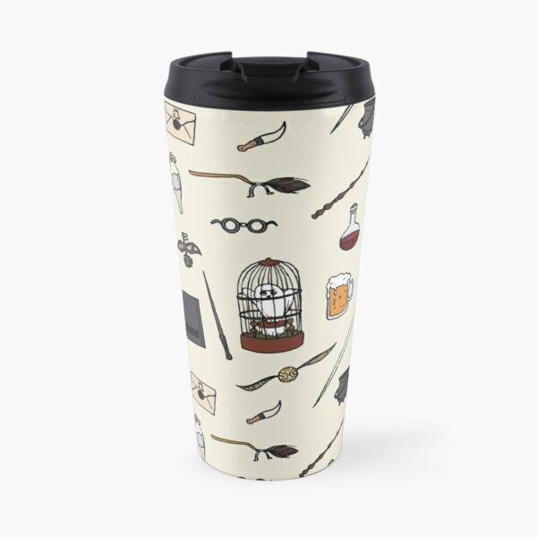 Owl and wand Travel Mug