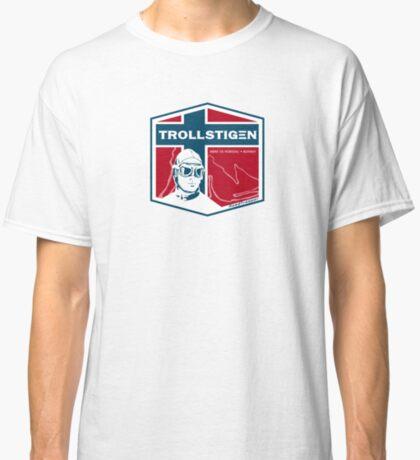 Trollstigen 2 - The Troll Road Norway T-Shirt Sticker Design Classic T-Shirt