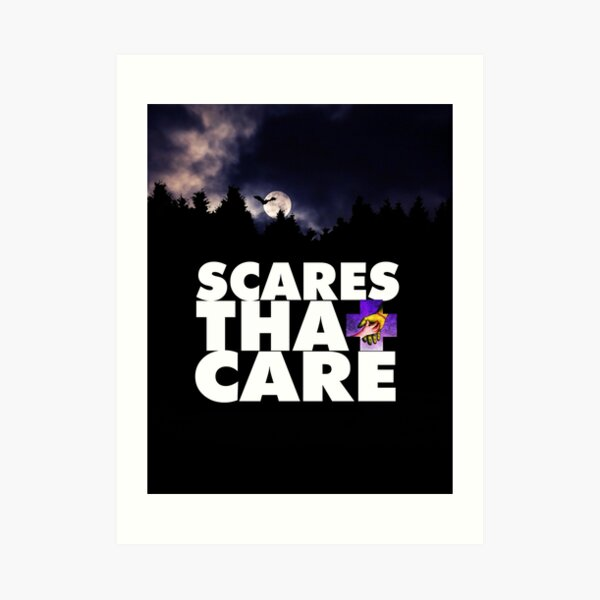 Scares That Care Midnight Art Print