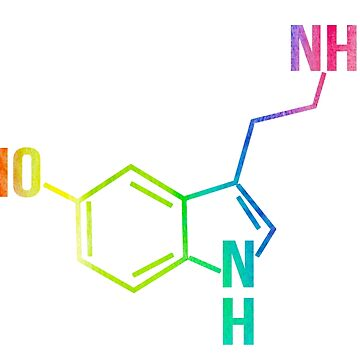 Unique Serotonin Rainbow by IntrepiShirts