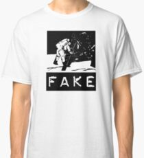 NASA Moon Landing Fake Classic T-Shirt