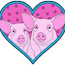 Two Pigs in a Heart by Lisa Vollrath