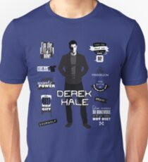 Derek Hale Quotes Teen Wolf Unisex T-Shirt