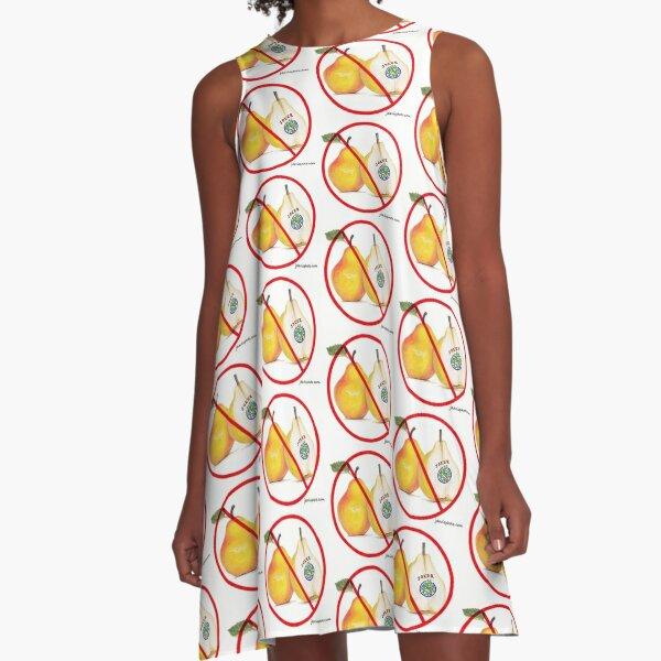Mahjong Dress  No Jokers with Pears A-Line Dress