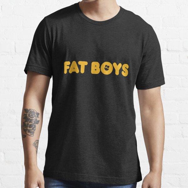New Fat Boys Rap Hip Hop Group Logo Men/'s Black Tees T-Shirt Size S-3XL
